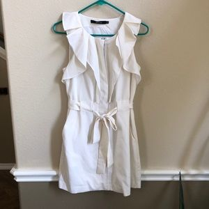 Ark & Co white dress size small